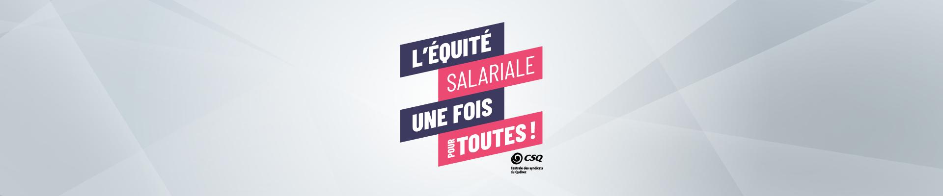 Équité salariale